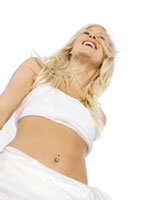 Medical Navel Piercing  fr 450 kr